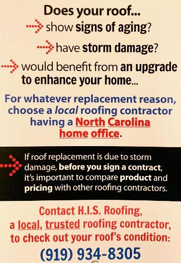 H I S Roofing Home Improvement Services Inc Gets The Job Done Right